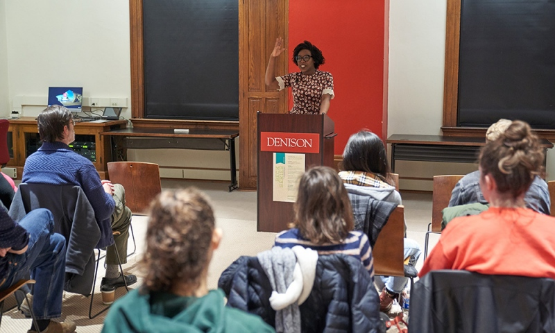 Learning from experienced writers | Article | Denison University