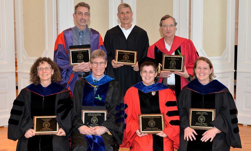 Denison University's Academic Award Convocation
