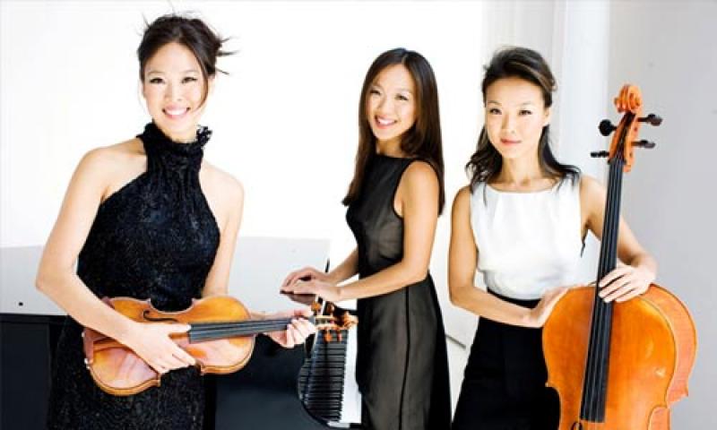 """Photo of """"The Ahn Trio"""""""
