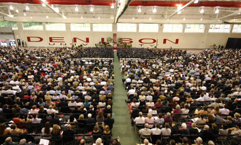 Commencement 2011 Crowd Image