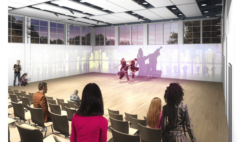 eisner center for performing arts studio