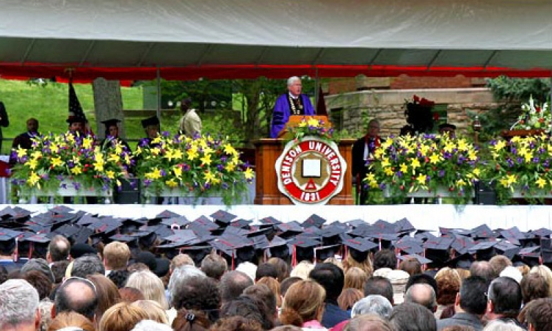 Commencement 2013 president speaking
