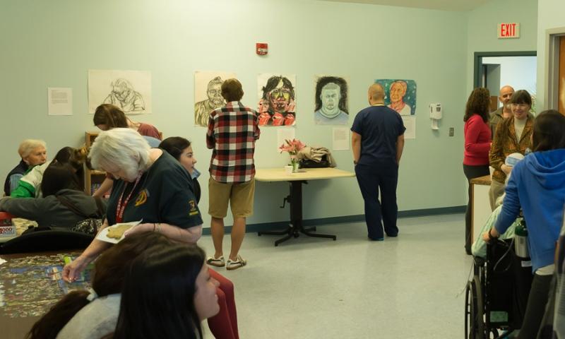 Art Exhibit at Flint Ridge Nursing and Rehabilitation Center