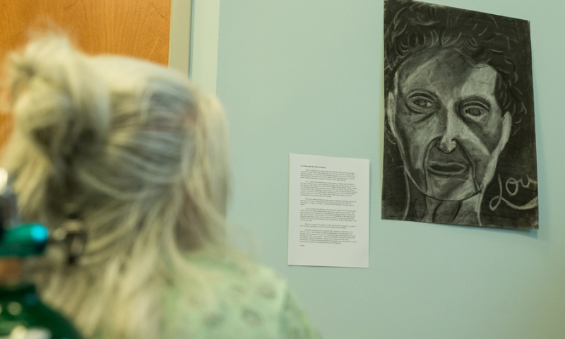 Student Artwork closeup at Flint Ridge Nursing and Rehabilitation Center