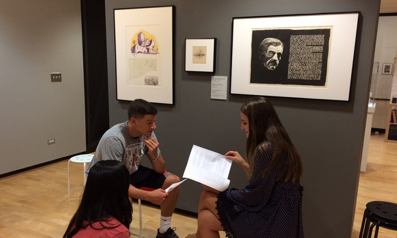 Students in Museum 3