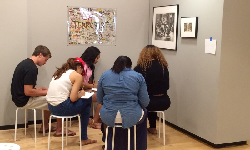 Students in Museum 4