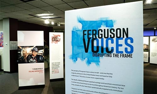 Exhibition Talk: 'Ferguson Voices: Disrupting the Frame' (102742)