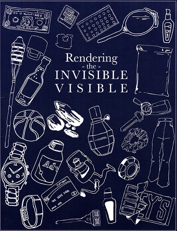 "Book Cover of ""Rendering the Visible"""
