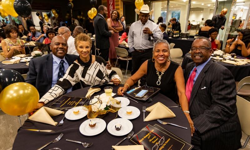 Black Alumni Association and Black Student Union celebration