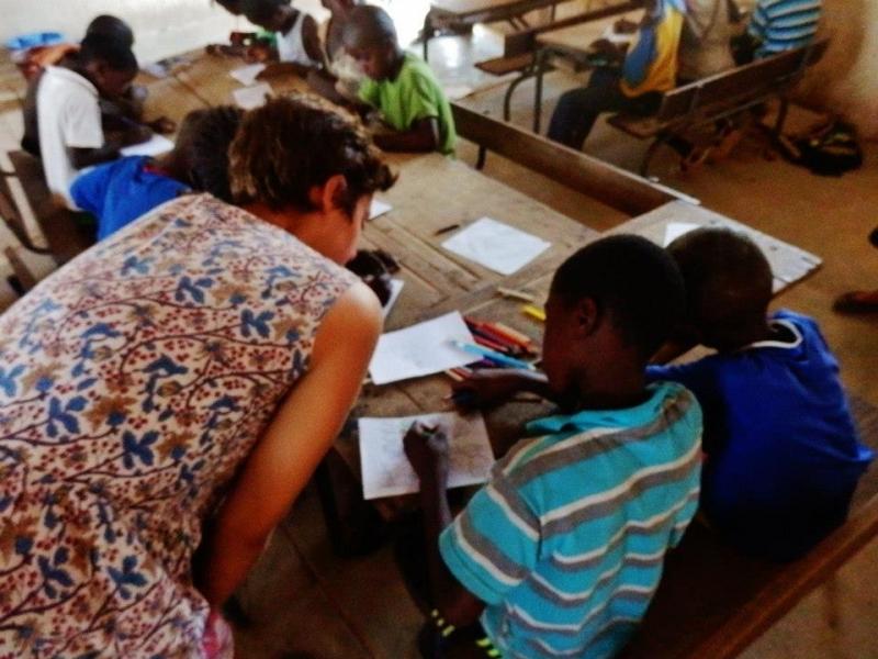 Grace Bachmann '17 in Senegal