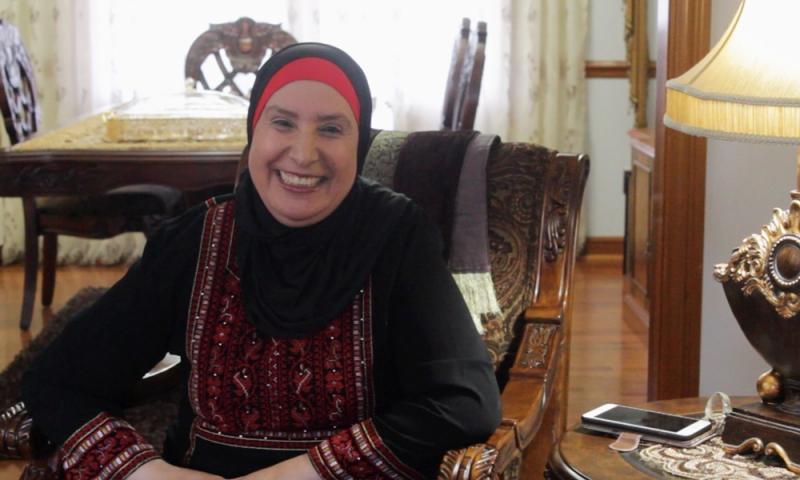 Arab-American woman