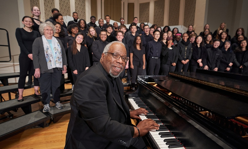 Tim Carpenter and Gospel Choir in Swasey