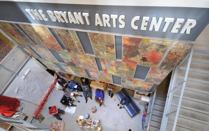 Bryant Arts Center student critique