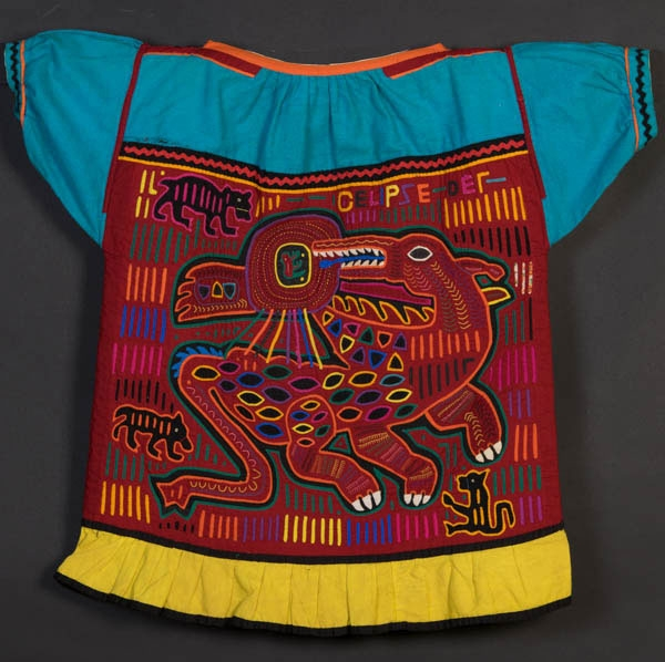 Guna Mola. Denison Museum Collection. Gift of Clyde Keeler