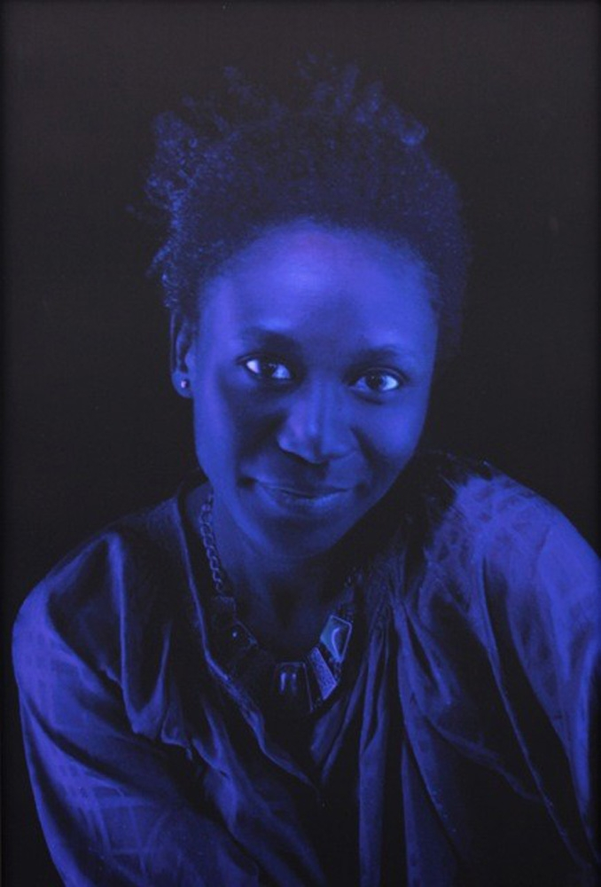 Kerry James Marshall, Black Beauty (Alana), 2012, Archival digital print, 27.5x17.5 in, Courtesy of Hedy Fischer and Randy Shull