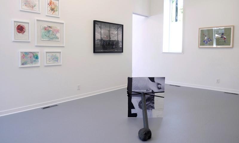 Hold (Rose) Gallery Installation