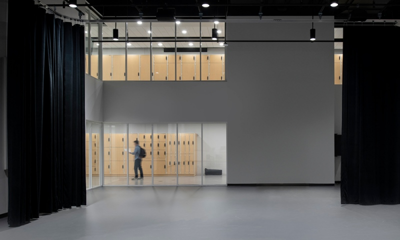 Large Rehearsal Space (Credit: Courtesy of DLR Group|Westlake Reed Leskosky; Kevin G. Reeves Photographer)