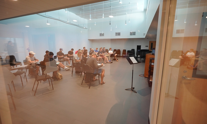 Medium Rehearsal Space (Credit: Courtesy of DLR Group Westlake Reed Leskosky; Kevin G. Reeves Photographer)