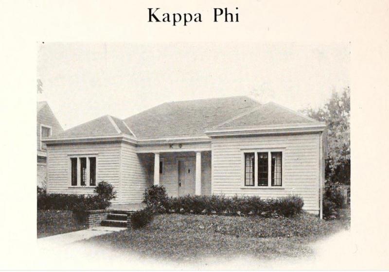 Kappa Phi house