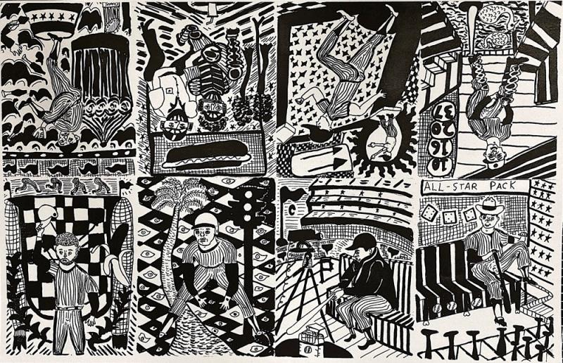 Henry Rosenberg's art work