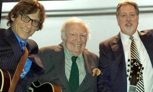 Ed Laub, Bucky Pizzarelli and Frank Vignola
