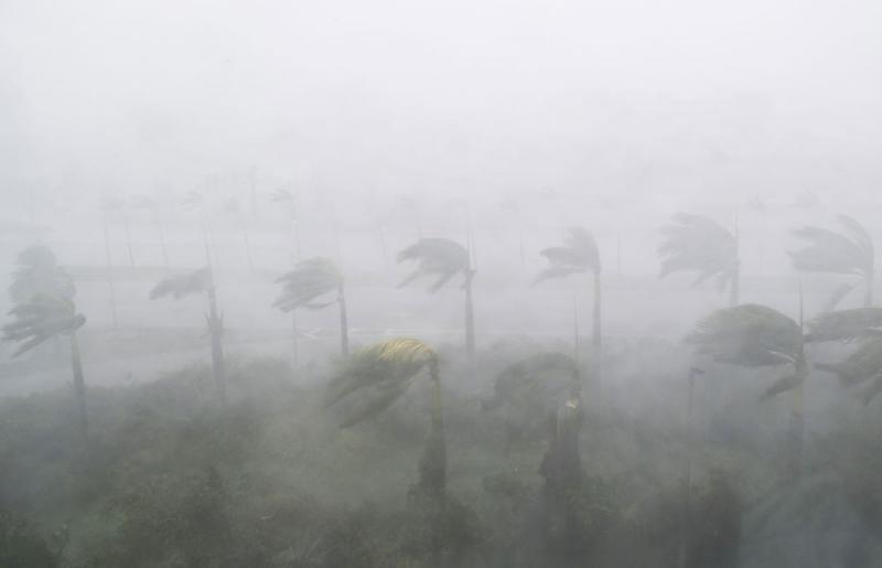 hurricane irma wind in miami florida