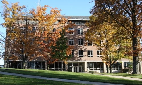 Blair Knapp Hall, home to the anthropology/sociology department