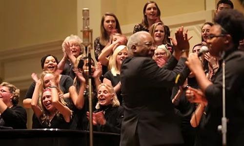 Denison Gospel Choir in action