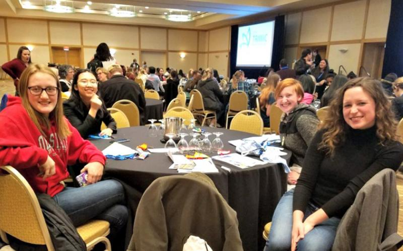 Students Attend Tri-State Women in Computer Conference