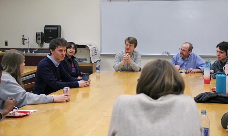 Igor Lovchinsky with students