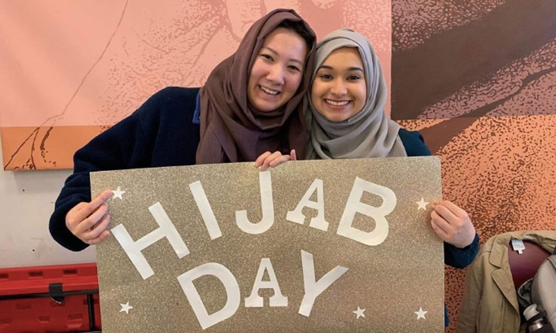 Hijab Day Sign