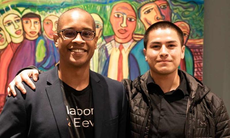 Manny Larcher and Dublas Vasquez
