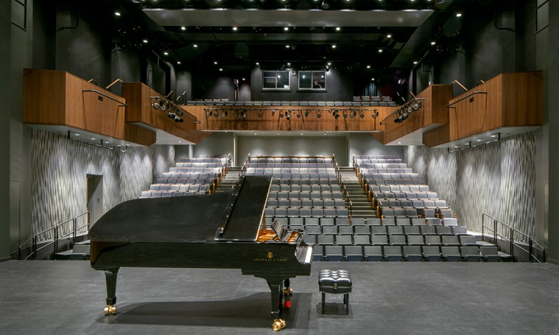 Steinway concert grand piano - Credit: Courtesy of DLR Group|Westlake Reed Leskosky; Kevin G. Reeves Photographer