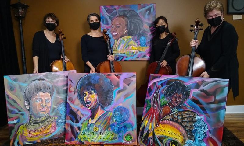 UCelli: The Columbus Cello Quartet
