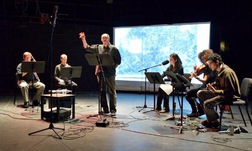 David Baker onstage