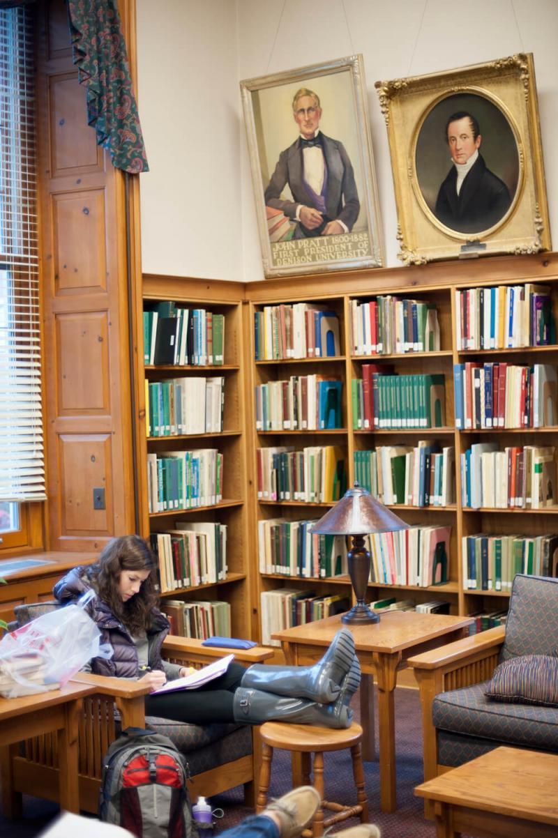 denison library reading room
