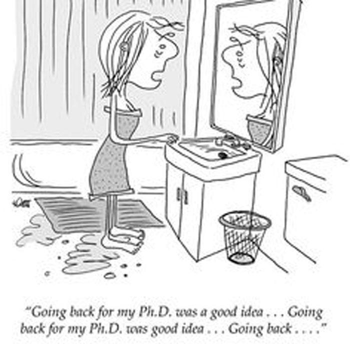 grad school comic