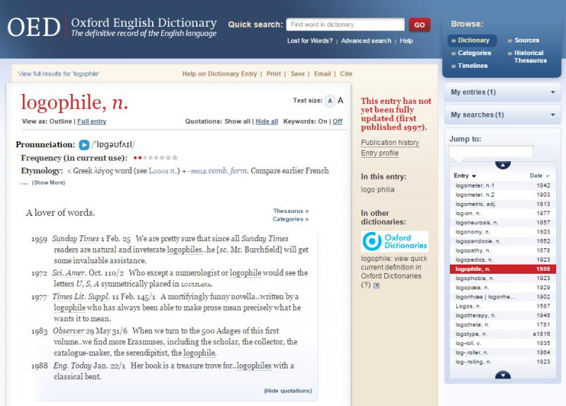 Dictionary Database