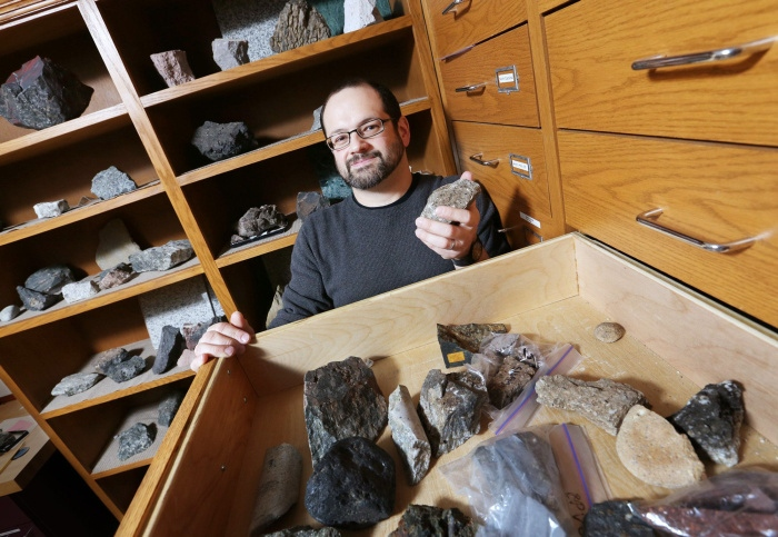Erik Klemetti, assistant professor of geosciences, discusses his passion for volcanology in the Columbus Dispatch