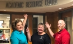 Jennifer Vestal, Heidi Trace and Torrance Powell at ARC