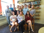 Students were inducted into Psi Chi