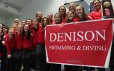 Women's swimming team