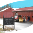 Community Recycling Center Building Icon