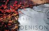 Denison anniversary stone plaque