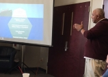 Robert Caldwell teaching