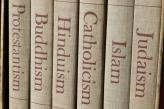 Books with religion names on the spine