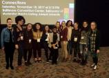 Students and faculty at NWSA conference