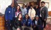 Ladysmith Black Mambazo with students