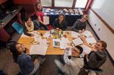 Students at the Pi-athlon