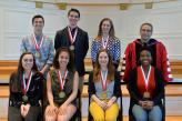 Presidential Medalists with president Adam Weinberg